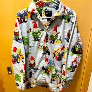 """""""Nick and Nora's"""" gnome pajama top"""